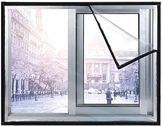 Lona, Película aislante para ventanas 2 lados Impermeable Manténgase caliente Protección contra el frío Cortina a prueba de viento Pantalla EVA para el hogar (Color: Transparente, Tamaño: 2x2.4m)