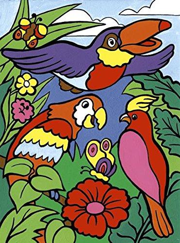 Royal & Langnickel MFP7 Ma première Peinture d'après les chiffres Oiseaux