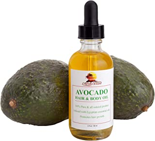 Sponsored Ad - Lavish Ocean Avocado Hair & Body Oil - Infused with Egyptian Essential Oils, Moisturizes & Promotes Healthy...