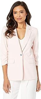 Calvin Klein Women's Cotton Scrunch Sleeve Jacket