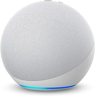 Echo (エコー) 第4世代 - スマートスピーカーwith Alexa - プレミアムサウンド&スマートホームハブ、グレーシャーホワイト