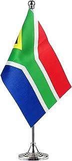 GentleGirl.USA South Africa Flag South African Flag Table Flag,Desk Flag,Office Flag,International World Country Flags Banners,Festival Events Celebration,Office Decoration,Desk,Home Decoration