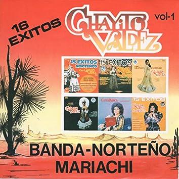 16 Exitos Banda Norteno Mariachi, Vol. 1