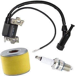 QAZAKY Ignition Coil Spark Plug F7TC for GX110 GX120 GX140 GX160 GX200 4HP 5.5HP 6.5HP Engine Generator Lawnmower Tractor Rototiller Water Pump Go Kart Mini Bike 30500-ZE1-063
