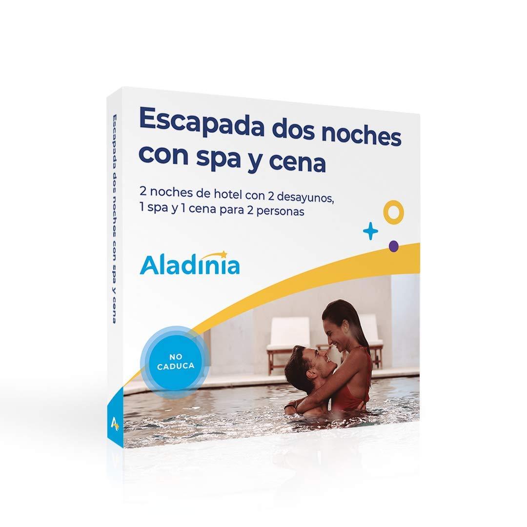 ALADINIA Escapada SPA y Cena Dos Noches. Caja Regalo Experiencias ...
