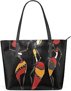 FANTAZIO Handtasche Schultertasche Sexy Afrikanische Damen Schultertasche