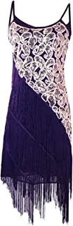 PrettyGuide Women's 1920s Gatsby Dress Sequin Paisley Glam Dance Party Cocktail Dress