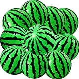 16 Pieces Watermelon Inflatable Ball Water Bouncing Beach Ball Pool Party Ball for Summer Beach Party Supplies, 6 Inch