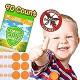 Mckenschutz-Aufkleber aus natrlichem Pflanzenessenz 90 Moskitoschutz Stickern effektiver Schutz 100% sicher fr Kinder Neugeborene und schwangere Frauen
