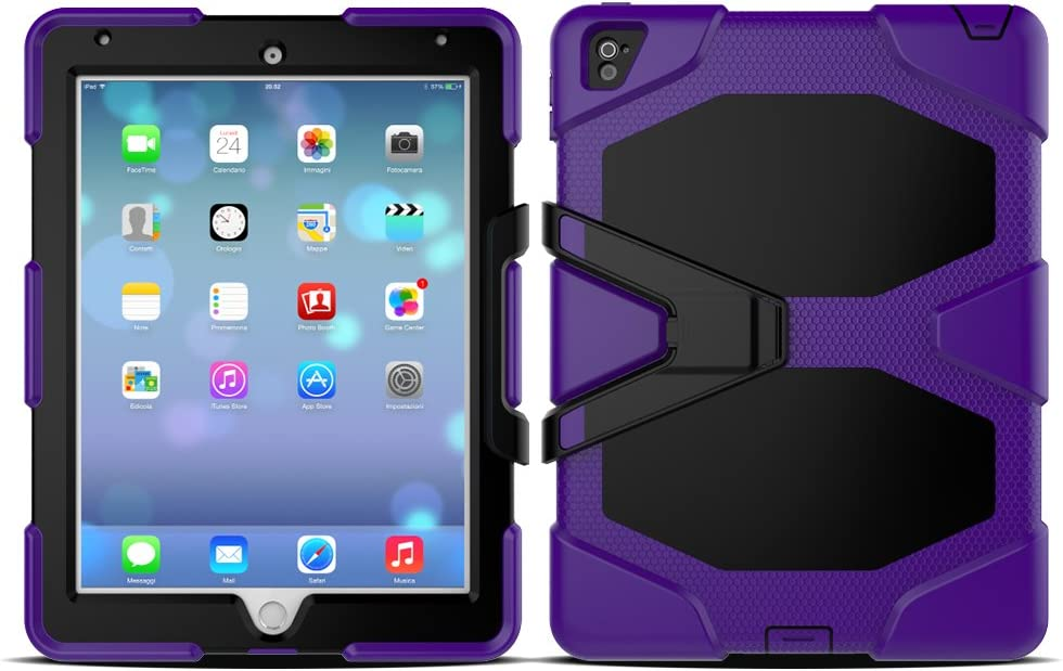 3in1 Outdoor High material Recommended Table Sleeve for Apple inch iPad 2017 Shock-Res 9.7