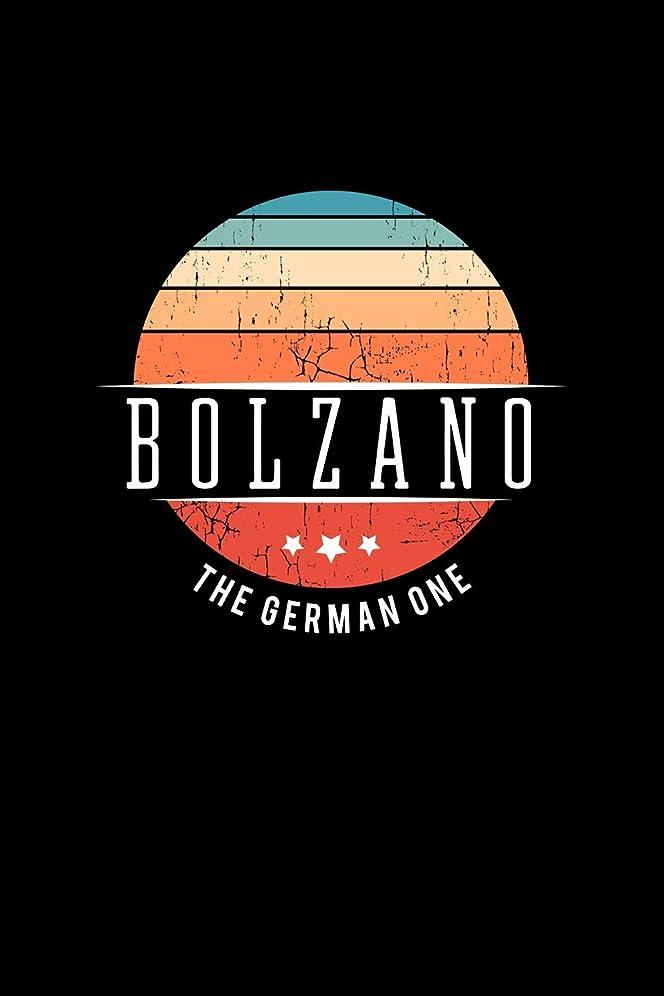 ストレッチパプアニューギニア夏Bolzano The German One: Vintage City Trip Souvenir Blank Journal Notebook