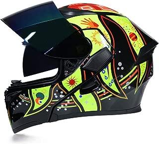 Motorcycle Flip Up Winter Helmets ty Racing Dirt Bike Helmet c5 L