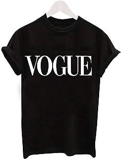 Fashion Retro T-shirt O-neck Short-sleeved Fashionable Top