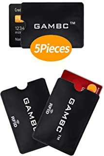 89412c5d4349d8 GAMBC® [5 Pz] ✅ Custodie blocco RFID protection - ANTI FRODE - 2a