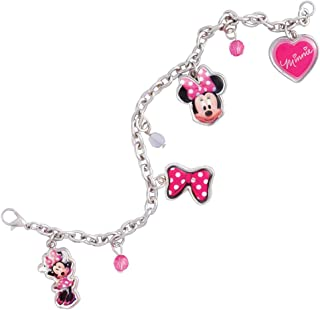 Girls Minnie Mouse Charm Bracelet Girls Dress Up