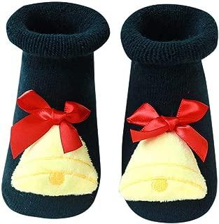 Pantofole Calzini Bimbo Bambina Cartone Animato Neonati Stivali Fiocchetto