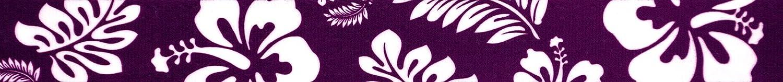 Country Genuine Free Shipping Brook Design - 3 Houston Mall 4 Webbin Polyester Purple Hawaiian Inch