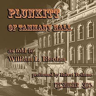 Plunkitt of Tammany Hall cover art