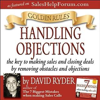 Golden Rules - Handling Objections audiobook cover art