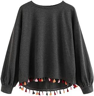 Autumn Harajuku Sweatshirt Women Streetwear Tassel Hoodie Korean Style Woman Clothes Korean Fashion Clothing Gift