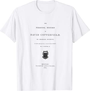 David Copperfield Charles Dickens Title Page T-Shirt T-Shirt