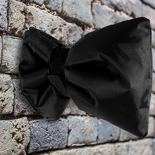 Dokon 2Pcs Tap Cosy Cover Will Protect Your Outside Tap, Thickened Outdoor Tap Cover From Freezing Waterproof Thermal Tap Jacket - Black