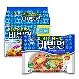 korea Paldo Bibim Myun Cold Noodle Instant Ramen, süße, würzige Soße, 130 g, 5 Stück (Unbekannter Einband)