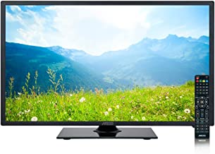 AXESS TV1705-24 24-Inch LED Full 1080p HDTV, Features 1xHDMI/Headphone, RGB and Component Inputs with Full Function Remote