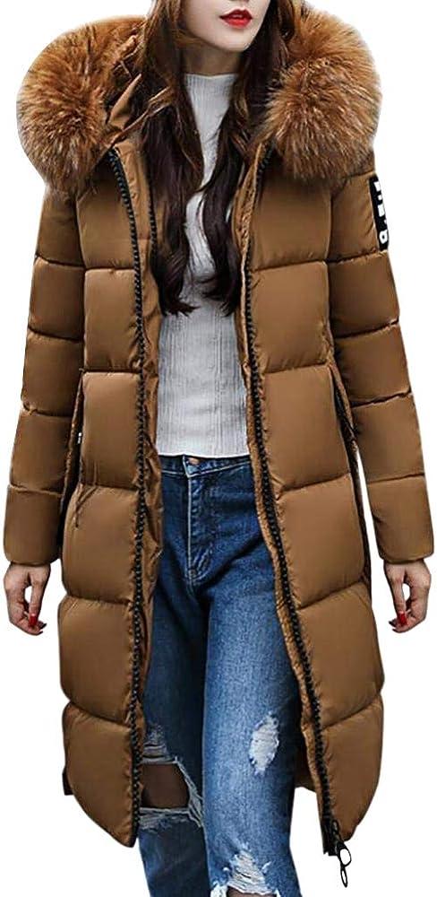 Orandesigne,caldo cappotto con cappuccio collo di pelliccia,piumino per donna,parka trench coat ZR180930XW-DE08-orange-34