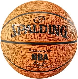 SPALDING 中性款 NBA 鉑金戶外籃球,橙色,尺碼7.0