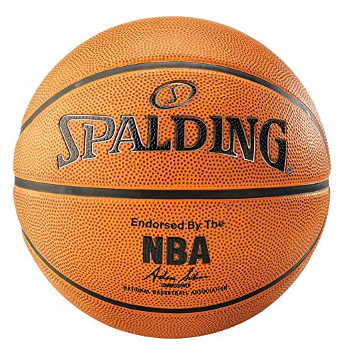 Spalding Unisex-Adult 3001531012037_7 Basketball, orange, 7