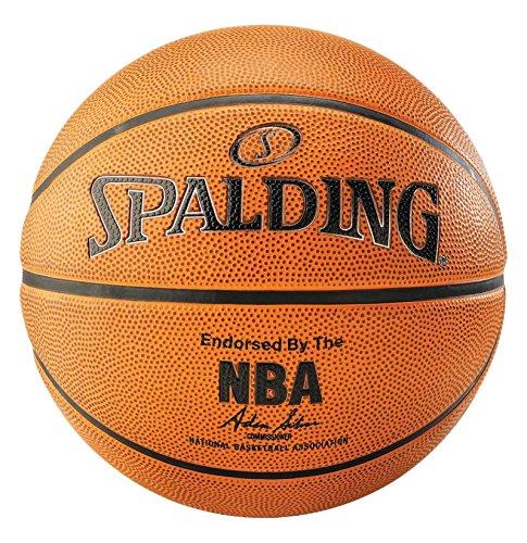 Spalding NBA Platinum Outdoor 83-493Z Balón de Baloncesto, Unisex, Naranja, 7