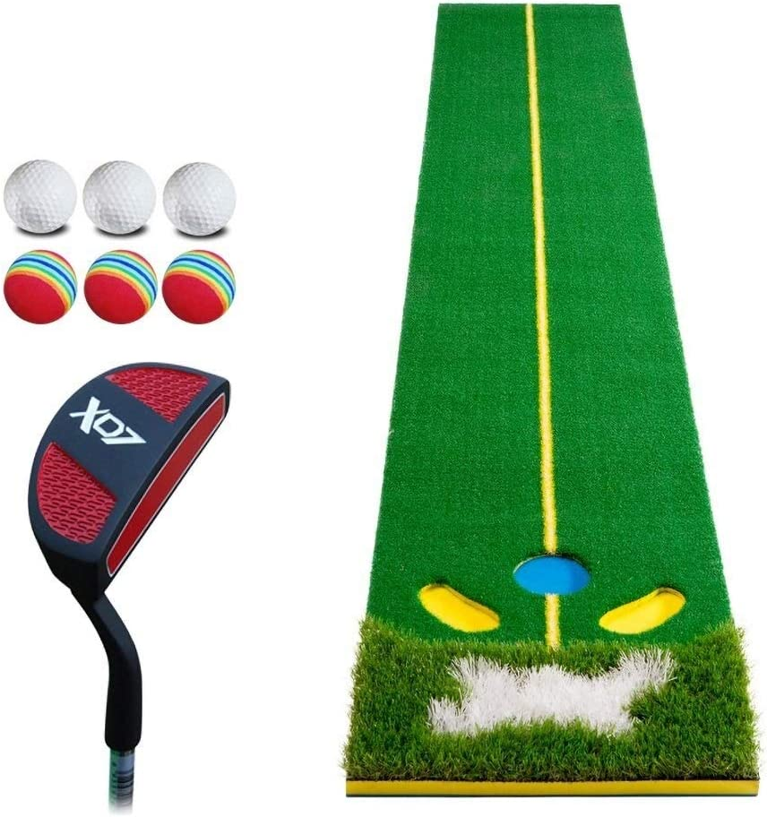 ZfgG Golf Putting Translated Mat Exercise Limited price sale Pad M Putter