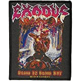 EXODUS - Patch Aufnäher Blood in Blood out 7x10cm