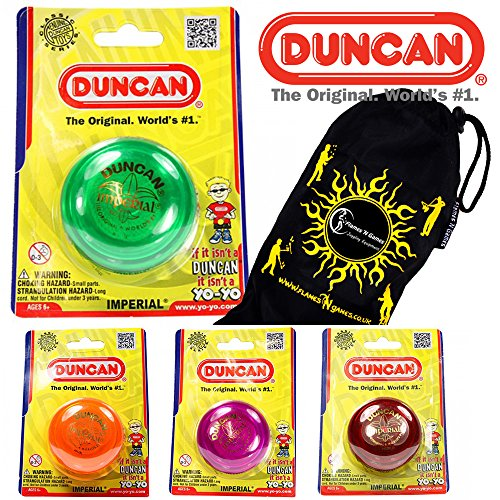 Duncan IMPERIAL Classic YoYo Ideal for KIDS and Beginners + Travel Bag! The...