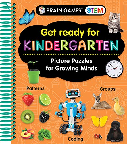Brain Games STEM - Get Ready for Kindergarten: Picture Puzzles for Growing Minds