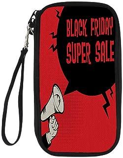 passport wallettravel wallet passport holderMegaphone Hand business concept with text Black Friday Super Sale 9.1