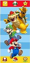 Super Mario Nintendo Help A Friend Beach Towel Mario Luigi and Bowser