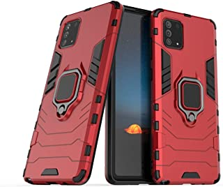 Boleyi Case for Samsung Galaxy A42 5G, Full Body Shock Resistant Armour Cover, with Kickstand, Cover for Samsung Galaxy A4...