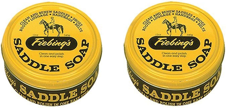 Fiebing's Saddle SoapYellow (2 Pack), 12 oz
