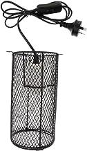 HOMYL Reptile Heat Light Holder Iron Lampshade Pet Anti-Scald Lamp Shade AU Plug