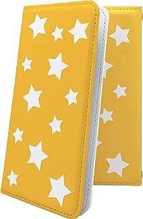 Xperia Z SO-02E ケース 手帳型 オレンジ 星 星柄 星空 宇宙 夜空 星型 エクスペリア 手帳型ケース おしゃれ SO02E XperiaZ かっこいい