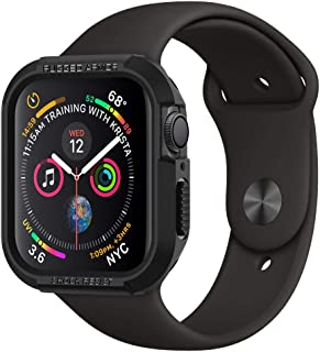 Spigen Rugged Armor Compatible con Apple Watch Funda para 44 mm Serie 5 / Serie 4 - Negro