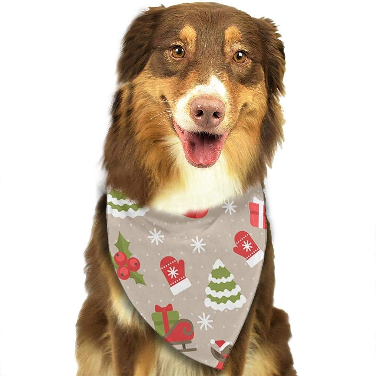 微生物単語算術XixiL プレゼントお菓子のペットの犬のハンカチの三角カバーのマフラーのアクセサリ、猫、ペットの動物