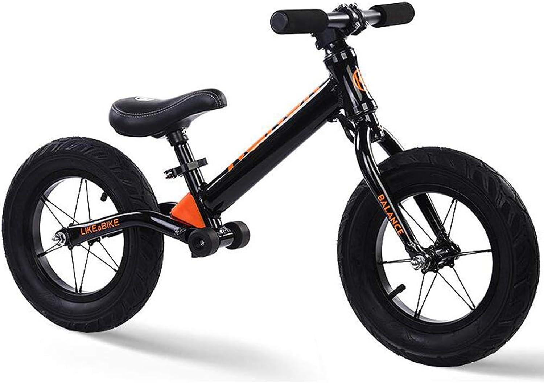 100% a estrenar con calidad original. FJ-MC FJ-MC FJ-MC Unisexo Bicicleta de Equilibrio, Marco de aleación de Aluminio, 12  Sin Pedal Bicicleta de Entrenamiento para Caminar, para Niños de 2 a 6 años y Niños pequeños,naranja  alto descuento