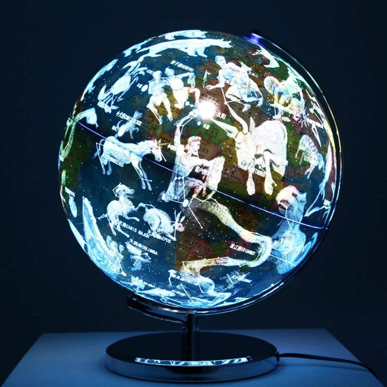 hasta 42% de descuento ZQYR Gift  Iluminado Iluminado Iluminado Mundo Globo Tierra y Constelaciones Construido en LED para Vista Nocturna iluminada,13 Pulgadas Globo Educativo del Mundo para la decoración,Model  JSL077  Venta al por mayor barato y de alta calidad.