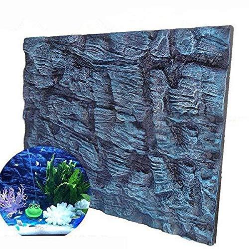 Aquatic Creations Universal Rocks Aquarium Background 3D Foam Fish Tank Background