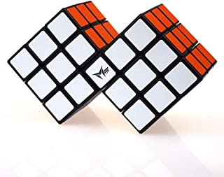 High quality Speed Rubik Cube Third-order Two-In-One Conjoined Jigsaw Puzzle Alien Cube Professional Game Brain Teaser Toy