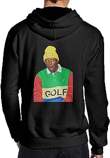 Evmjser Golf Wang Tyler The Creator Men's Leisure Long Sleeve Hooded Hoodie Sports Tops Black