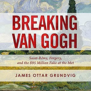Breaking van Gogh audiobook cover art